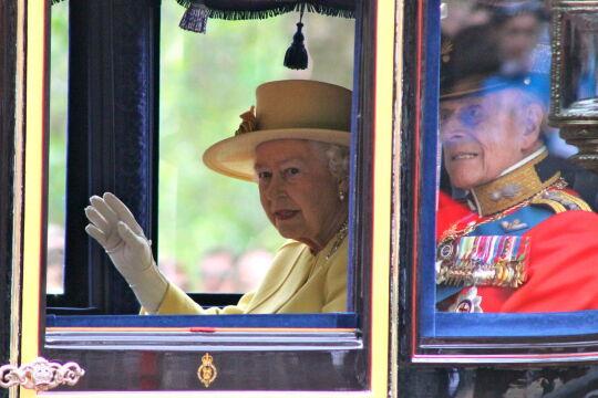 Królowa Elzbieta II i Książę Edynburga w karecie, 2012