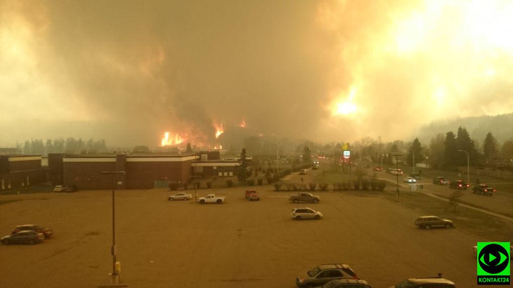 Ogień strawił około 2,8 tysiąca budynków w mieście