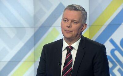 """Tomasz Siemoniak w """"Jeden na Jeden"""""""