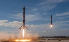Synchroniczne lądowanie dwóch modułów