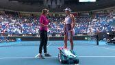 Muguruza po awansie do finału Australian Open