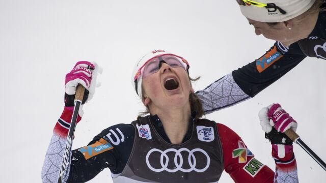 Kolejne zwycięstwo Oestberg i pewne prowadzenie w Tour de Ski