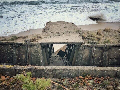 Morze otworzyło tunele donikąd