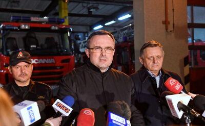 """""""Prosiłbym o to, aby rodziny uszanować i w tej tragedii pozwolić nam spokojnie działać"""""""