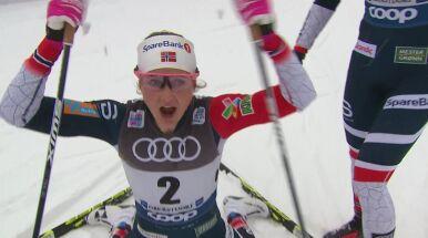 Oestberg wygrała zacięty bieg. Kolejne zwycięstwo na koncie Norweżki