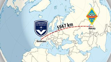 6 tysięcy kilometrów na mecz. Rekordowa podróż Kazachów w Lidze Europy