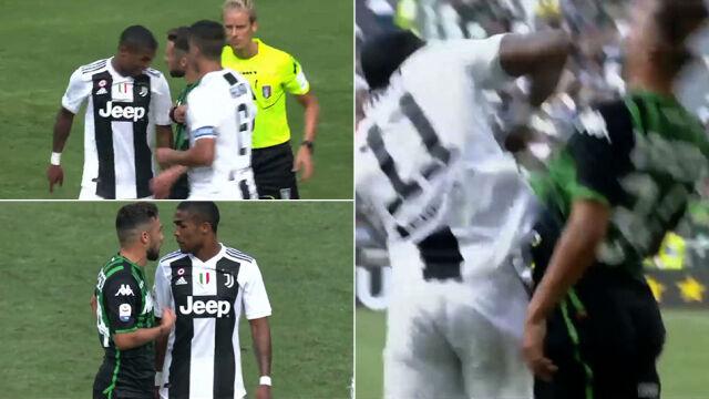 Haniebne zachowanie gwiazdy Juventusu. Uderzył i opluł rywala