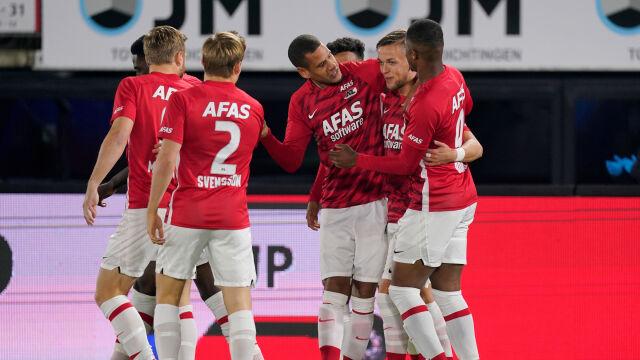 Trzynastu piłkarzy zakażonych. AZ Alkmaar i tak jedzie na mecz z Napoli