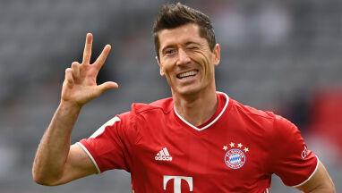 Lewandowski strzelił trzy gole, pobił dwa rekordy