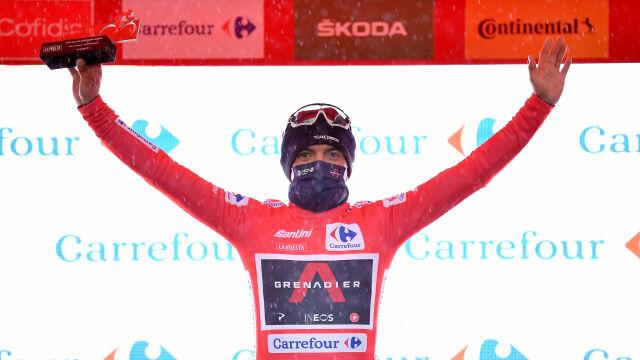 Vuelta a Espana z nowym liderem