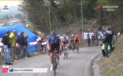 O'Connor odskoczył od grupki Małeckiego na 16. etapie Giro d'Italia