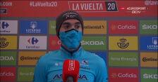 Izagirre po wygraniu 6. etapu Vuelta a Espana