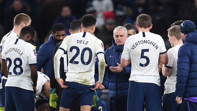 """Mourinho nie poddaje się po pladze kontuzji w Tottenhamie. """"Sposobów na strzelanie goli jest dużo"""""""