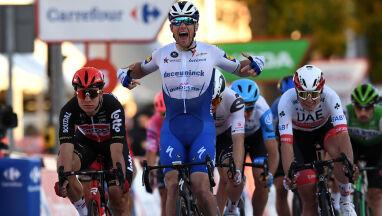 Cieszył się z wygranej, ale został zdyskwalifikowany. Zaskakujący finisz 9. etapu Vuelty