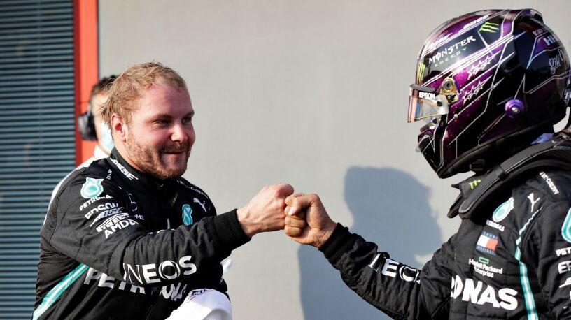 Bottas pokonał Hamiltona na Imoli