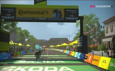 Ovett najszybszy na 4. etapie Wirtualnego Tour de France