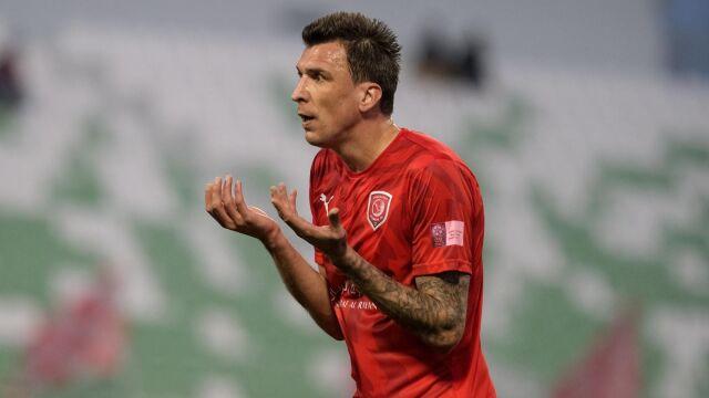 Mandżukić ma Katar z głowy. Chorwat może wrócić do Serie A