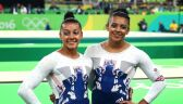 Brytyjskie gimnastyczki Becky i Ellie Downie