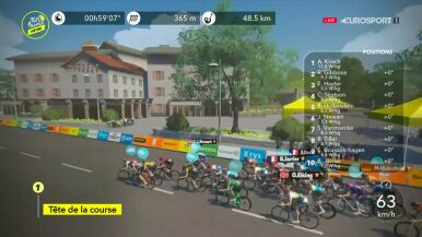 Pomknęli Drogą Wielkich Prędkości. Wirtualny Tour de France na półmetku