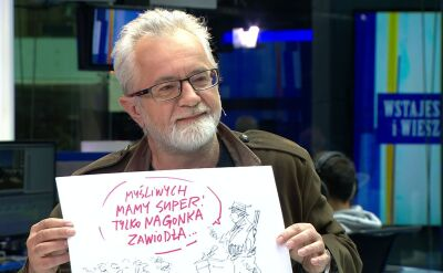 Jak wygląda kampania Komorowskiego? Sawka pokazuje rysunek