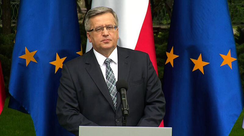 Komorowski zapowiada ogólnopolskie referendum: JOW-y, finansowanie partii, podatki