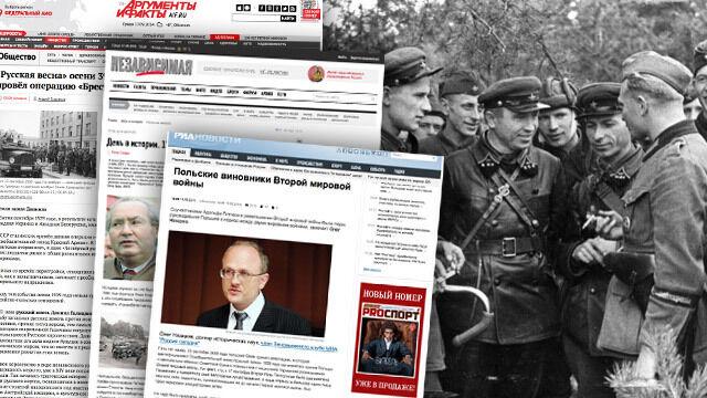 """""""Polacy flirtowali z Hitlerem i się doigrali"""". Rosyjskie media edukują o 17 września"""