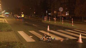 Trzylatek przejeżdżał na rowerku przez przejście dla pieszych. Kierowca go potrącił