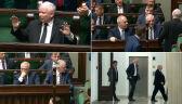 Kaczyński wyszedł z sali obrad. Wezwał Ziobrę i Gowina