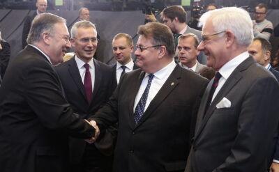 Jacek Czaputowicz bierze udział w szczycie NATO w Brukseli