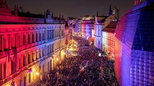 Leaders of V4 commemorate 30th anniversary of Velvet Revolution in Prague