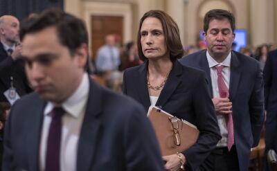 Komisja Kongresu przesłuchała byłą doradczynię Trumpa Fionę Hill