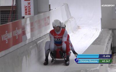 Chmielewski i Kowalewski najlepsi po pierwszym ślizgu w Innsbrucku