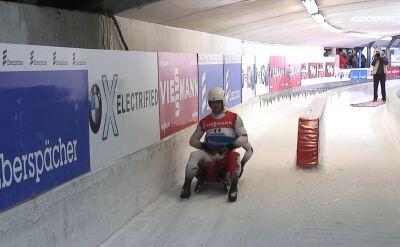13. miejsce Polski w rywalizacji dwójek w Innsbrucku