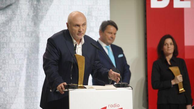 Przemówienie Adama Pieczyńskiego po odebraniu nagrody