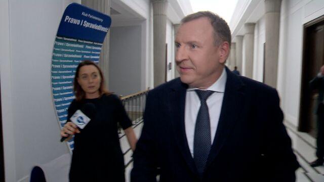 Jacek Kurski w Sejmie