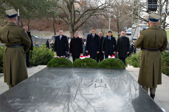 Pogrzeb przywódców Powstania Styczniowego