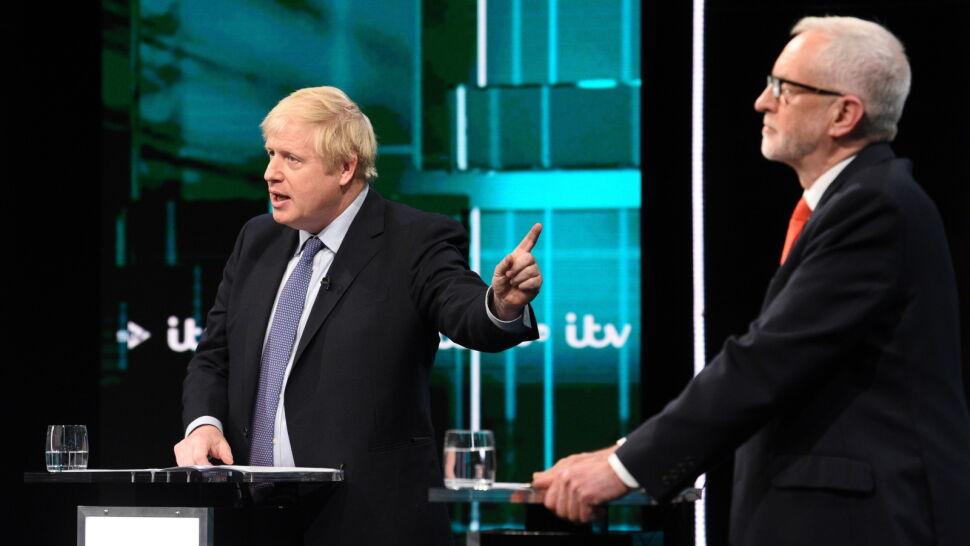 """Johnson wygrał z Corbynem. """"Frustrująca"""" debata"""