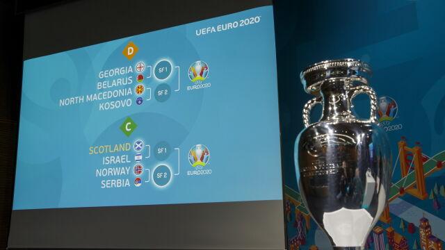 Wylosowano pary barażowe Euro 2020. Współgospodarze trafili na siebie