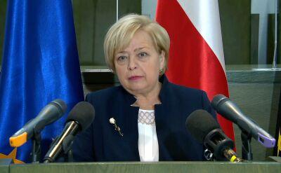 Małgorzata Gersdorf o wyroku TSUE
