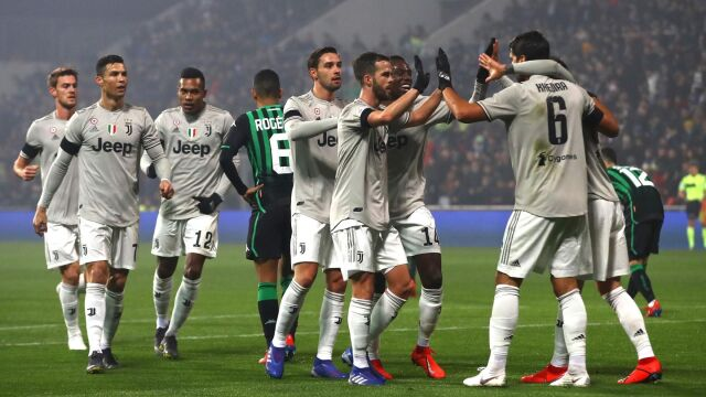 bf6dad4ad Juventus pokonał Sassuolo. Niepewny Szczęsny | Eurosport w TVN24