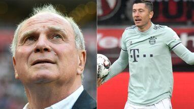 Prezydent Bayernu broni Lewandowskiego.