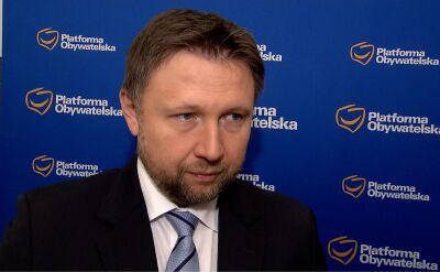 Marcin Kierwiński o wynikach sondażu poparcia dla partii
