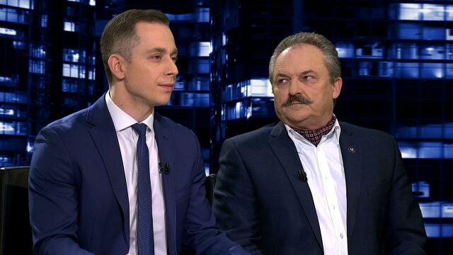 """Marek Jakubiak i Cezary Tomczyk w """"Kropce nad i"""""""