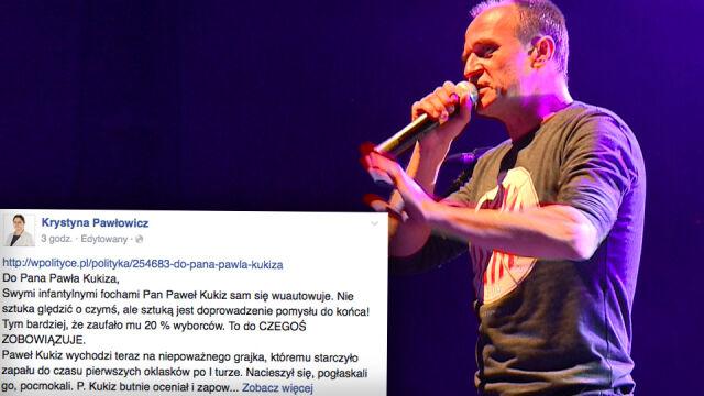 Pawłowicz do Kukiza: