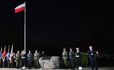 Prezydent Duda na podczas obchodów 79. rocznicy wybuchu II wojny światowej w Tczewie