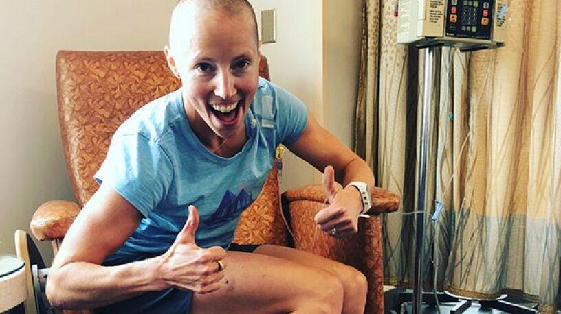 Mistrzyni olimpijska nie daje się rakowi.