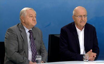 """Prof. Bogdan Góralczyk i Marek Ostrowski w """"Horyzoncie"""""""