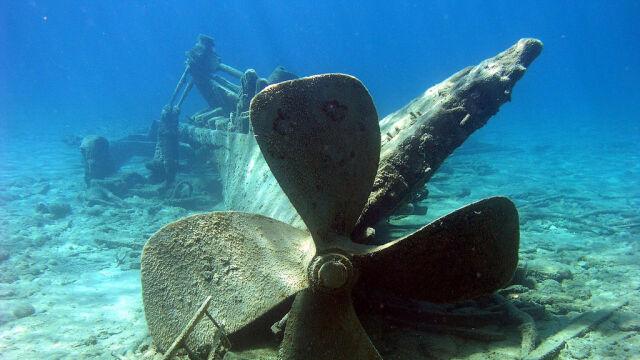Z morskiego dna zniknęły wraki.  Brakuje siedmiu wielkich okrętów