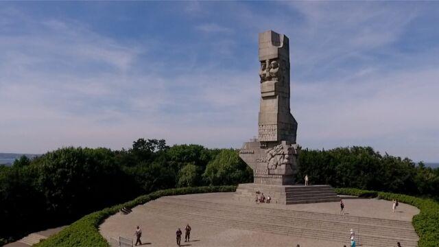 Wmurowanie kamienia węgielnego pod muzeum na Westerplatte 1 września