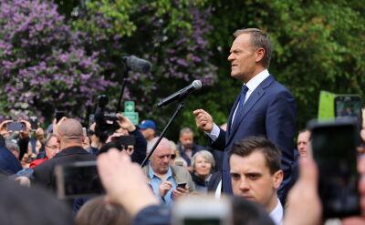 Tusk: dzięki wam i waszej determinacji, władza wie, gdzie jest większość